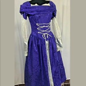 Scott McClintock Rapunzel gown Sz 12 Dress Vintage